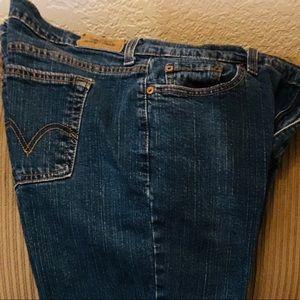 Jeans, Levitz Straus, Straight Leg 505
